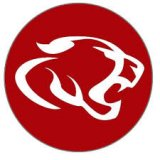 Red Circle Crosby ISD Logo