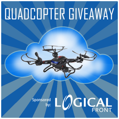 Quadcopter F-181 Giveaway Blue Cloud Infographic