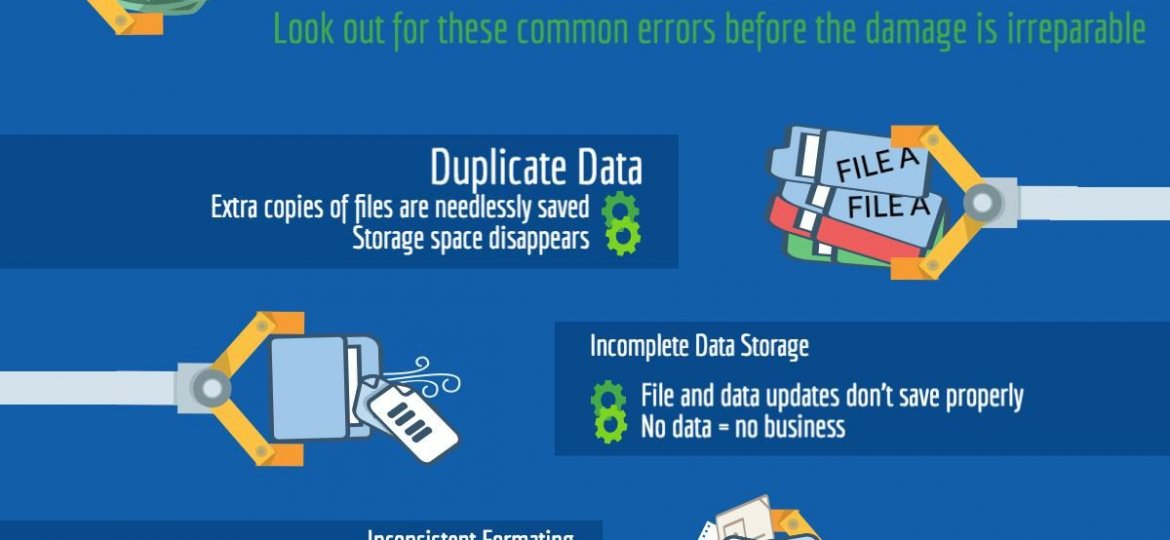 3 Costly Data Management Errors Infographic