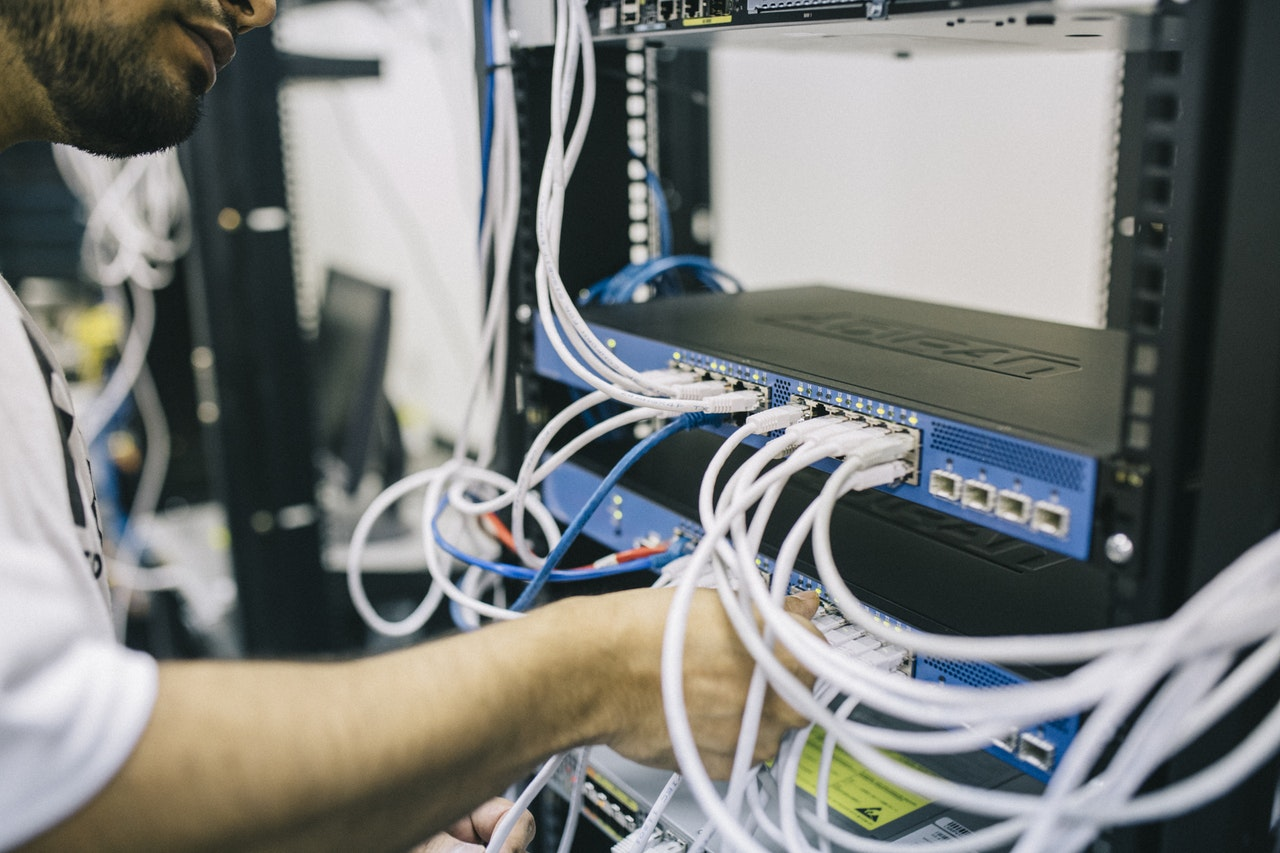 new equipment can open up time and resources to improve things like organization security.