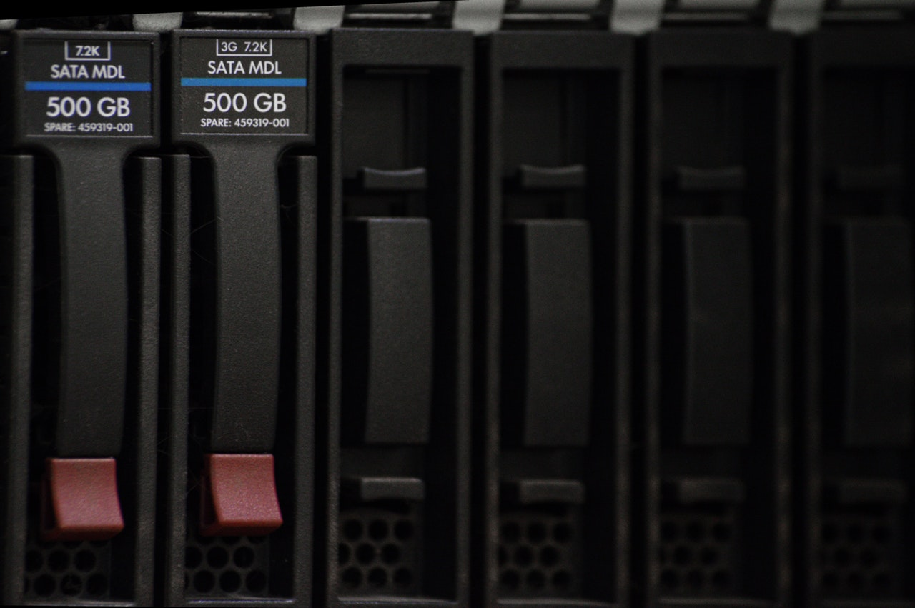 IT budget uses data storage options